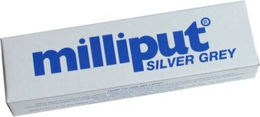 Milliput Modelliermasse Silver - Grey 113.4g (Epoxy Putty)