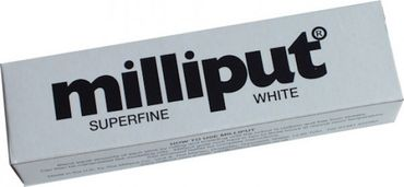 Milliput Modelliermasse Superfine White 113.4g (Epoxy Putty)