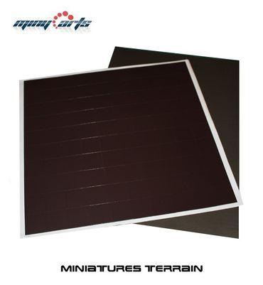 50 Magnetbases 25 x 25 mm mit Ferrofolie SK