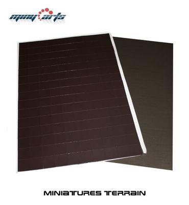 75 Magnetbases 20 x 20 mm mit Ferrofolie SK