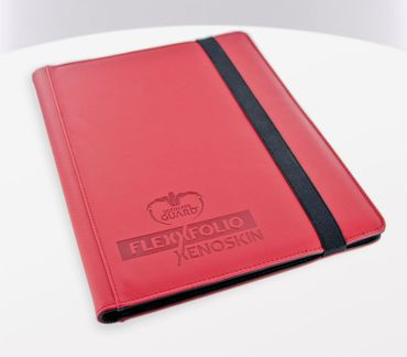 9-Pocket FlexXfolio XenoSkin Red – Bild 1