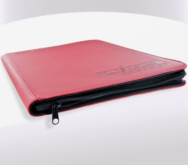 9-Pocket Zipfolio XenoSkin Red – Bild 3