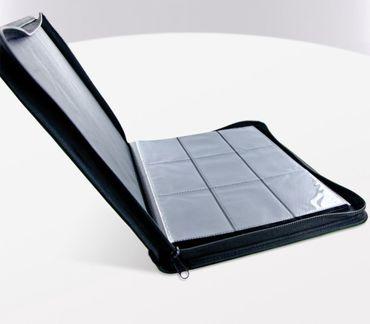 9-Pocket Zipfolio XenoSkin Blue – Bild 4