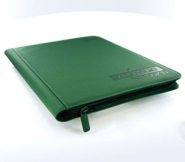 9-Pocket Zipfolio XenoSkin Green – Bild 3