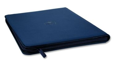12-Pocket QuadRow Zipfolio Xenoskin Dark Blue – Bild 3