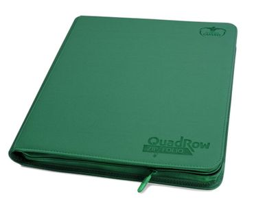 12-Pocket QuadRow Zipfolio Xenoskin Green – Bild 1