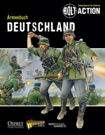 Bolt Action Armeebuch - Deutschland (Deutsch) – Bild 1
