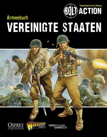 Bolt Action Armeebuch - Vereinigte Staaten (Deutsch)