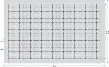 Double-Size Raster Schaumstoff 5 mm – Bild 2