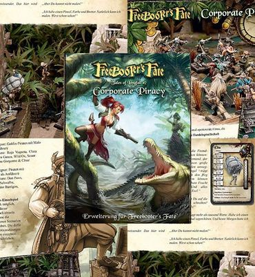 Freebooter's Fate Tales of Longfall 2 - Corporate Priracy (Deutsch)