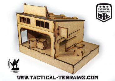 Tactical Terrains 28 mm Lagerhalle 2 – Bild 3