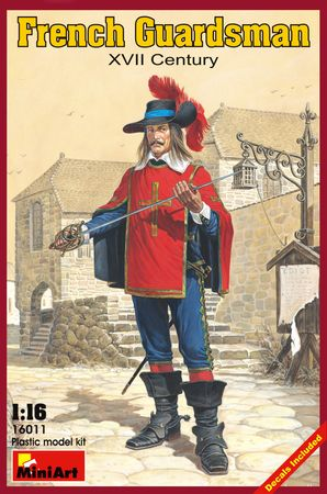 French Guardsman XVII Century 1:16