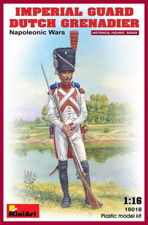Imperial Guard Dutch Grenadier Napoleonic Wars 1:16
