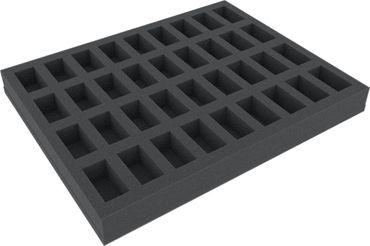 Full-Size Schaumstoff 40 mm (36 Fächer) – Bild 1