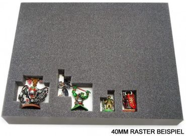 Full-Size Raster Schaumstoff 25 mm – Bild 2