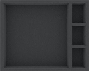 Full-Size Schaumstoffeinlage 50 mm für Zombicide und Black Plague Token, Tiles und Karten – Bild 2