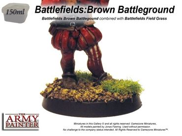 Battlefields - Brown Battleground Basing 150ml – Bild 2