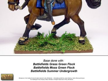 Battlefields - Moss Green Flock Basing 150ml – Bild 3