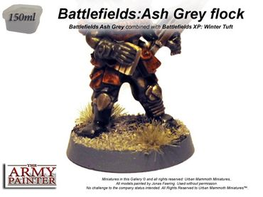 Battlefields - Ash Grey Flock Basing 150ml – Bild 2