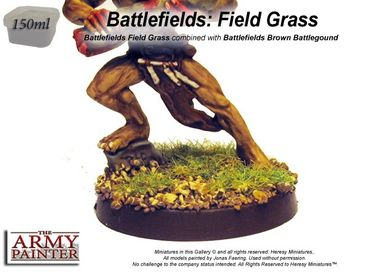 Battlefields - Static Field Grass Basing 150ml – Bild 2