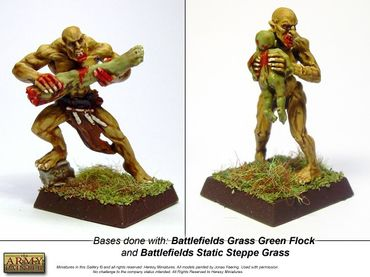 Battlefields - Static Steppe Grass Basing 150ml – Bild 2