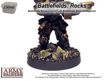 Battlefields - Rocks Battleground Basing 150ml – Bild 2
