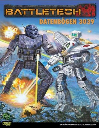 BattleTech Datenbögen 3039 (Deutsch)