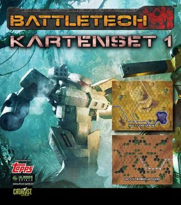 BattleTech Kartenset 1 (BattleForce und Scattered Woods) – Bild 1