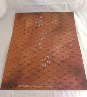 BattleTech Kartenset 2 (Desert Hills und Rolling Hills 1) – Bild 2