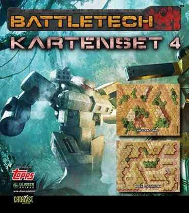 BattleTech Kartenset 4 (Woodland und Box Canyon) – Bild 1