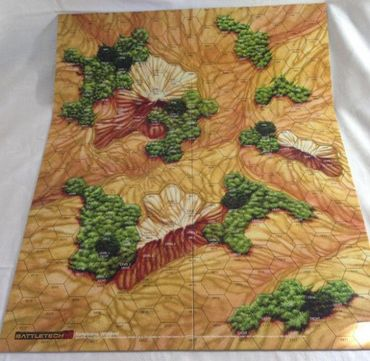 BattleTech Kartenset 4 (Woodland und Box Canyon) – Bild 3