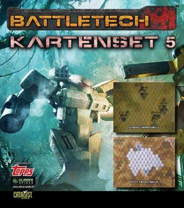 BattleTech Kartenset 5 (Open Terrain 2 und CityTech Map) – Bild 1