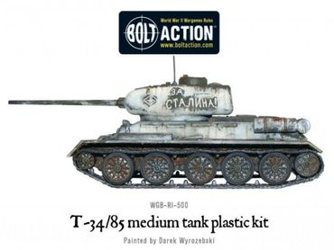 T-34/85 Soviet Medium Tank 28mm – Bild 4