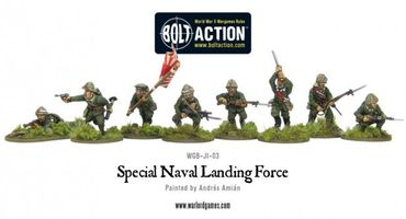 Special Naval Landing Force Imperial Japanese Marines 28mm – Bild 2