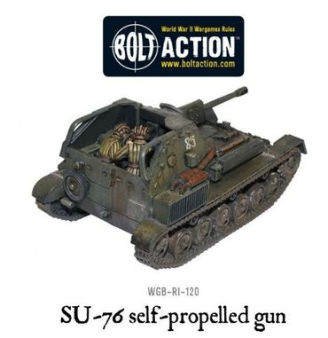 SU-76 Assault Self Propelled Gun 28mm – Bild 2