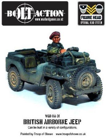 Red Devils' Jeeps British Airlanding Jeeps 28mm – Bild 1