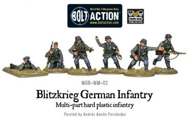 Blitzkrieg German Infantry Early War 28mm – Bild 4