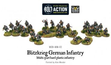 Blitzkrieg German Infantry Early War 28mm – Bild 2