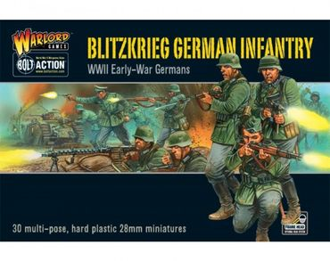 Blitzkrieg German Infantry Early War 28mm – Bild 1