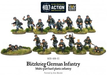 Blitzkrieg German Infantry Early War 28mm – Bild 3