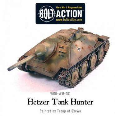 German Jagdpanzer 38 (t) Hetzer Tank Destroyer 28mm – Bild 1
