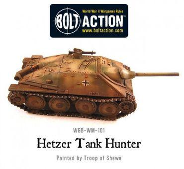 German Jagdpanzer 38 (t) Hetzer Tank Destroyer 28mm – Bild 4