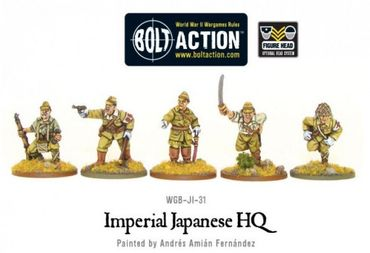 Imperial Japanese HQ 28mm – Bild 1