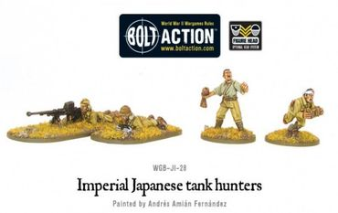 Imperial Japanese Tank Hunters 28mm