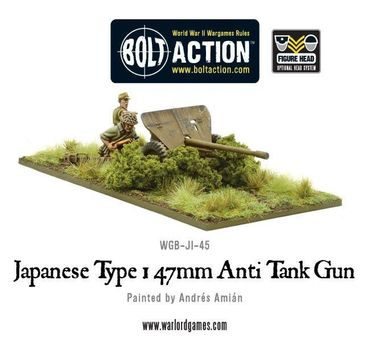 Japanese Type 1 47mm Anti Tan Gun 28mm – Bild 1