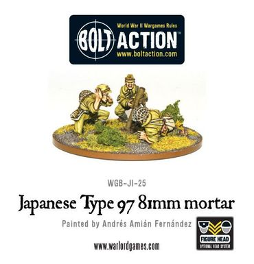 Japanese 81mm Mortar 28mm