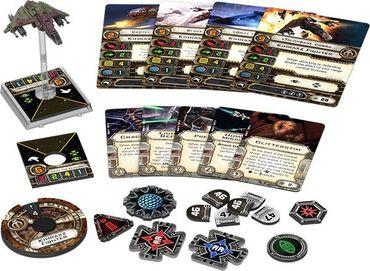 Star Wars X-Wing Kihraxz-Jäger Erweiterung (Deutsch)