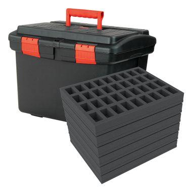 Koffer XL 216 größere Miniaturen