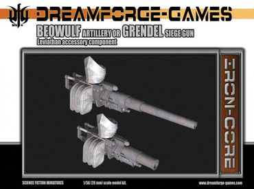 Leviathan Beowulf-Grendel Cannon - 28mm Accessory Weapon