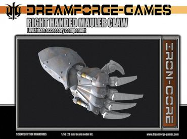 Leviathan Mauler Claw Right Handed - 28mm Accessory Weapon